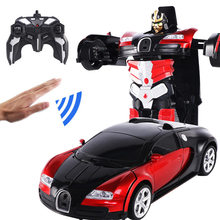 RC Induction Transformation Robot Car 1:14 Induction Deforma