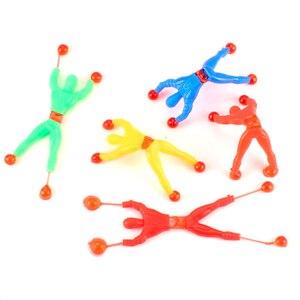 5 шт./лот/Лот Новые продукты игрушка слизи вязкий альпинистский Человек-паук фигурку Смешные гаджеты Человек-паук для детей подарок игрушка