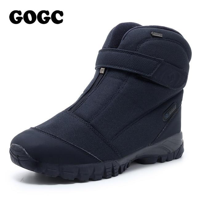 GOGC Winter Boots Men Warm Men Winter Shoes Winter Shoes for Men sneakers for men's fur Warm Snow Boots Shoes Men G9907 1
