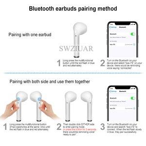 Image 3 - i7s TWS Wireless Earpiece Bluetooth 5.0 Earphones sport Earbuds Headset With Mic For smart Phone Xiaomi Samsung Huawei LG