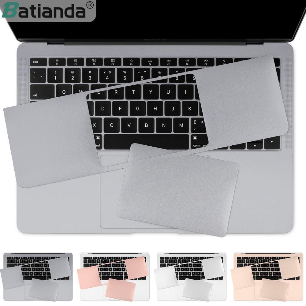Защитная панель для рук + стикер для сенсорной панели и защитная пленка для MacBook Air Pro Retina 13 15 16 дюймов Сенсорная панель 2019 2020 A2289 A2338 M1