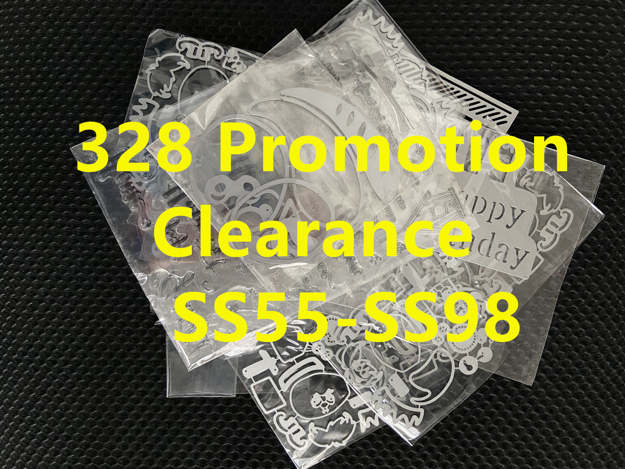 328 Peomotion Clearance Cutting Dies SS55-SS98