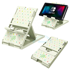 Image 3 - Nintendoswitch Leuke Draagbare Verstelbare Houder Nintend Switch Console Stand Ns Ondersteuning Beugel Voor Nintendo Switch/Lite Game