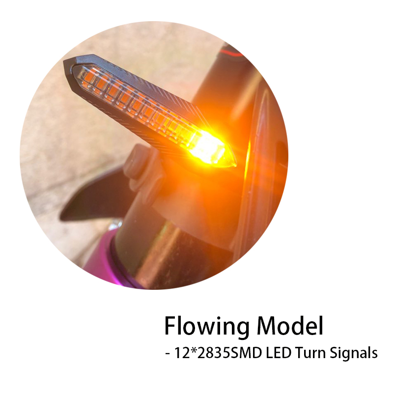 cheapest Universal LED Turn Signals for Motorcycle Arrow Amber Lamp Rear Flashing Signal Brake Lights Indicators For Honda Yamaha 12V