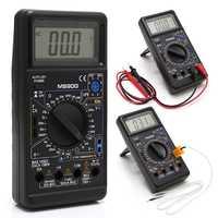 M890G multimètre numérique DMM AC cc Volt Amp ohm température mètre fréquence 94PC