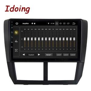 """Image 3 - Idoing 9 """"PX6 Auto Android 10 Radio Multimedia Speler Voor Subaru Forester 3 Sh 2007 2013 4G + 64G Gps Navigatie 2.5D Geen 2 Din Dvd"""