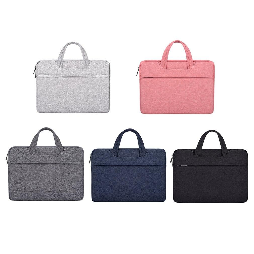 Laptop Handbag Sleeve Case Protective Shoulder Bag Notebook Carrying Case For Macbook Air For ASUS For Acer