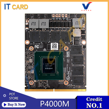 Quadro P4000M P4000 GDDR5 8GB การ์ด N17E-Q3-A1 X-สำหรับ HP ZBOOK 17 G3 G4 dell M7710 M7720 FUJITSU H970(China)