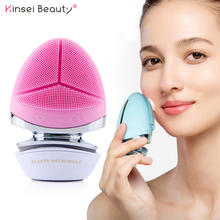 Massager Microcurrent Face-Lift-Cleaning-Machine Mini Silicone EMS