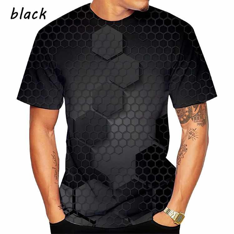 2020 nuovo 3D stampa digitale T shirt Maschile Femminile di estate divertente t shirt Adulto bambino popolazione Personalizzato streetwear tops