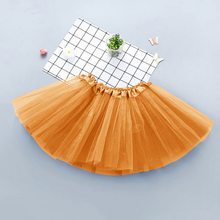 Baby Girl Tutu Skirt Kids Princess Skirts Infnat Ball Gown Fashion Birthday Party Clothes Children Solid Tulle Costumes Clothing(China)