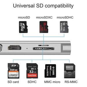 Image 5 - WIWU 11 in 1 Multi USB 3.0 Hub for MacBook Pro USB Adapter Dock Charging Type c Hub HDMI RJ45 VGA USB Splitter 3.0 USB C Hub