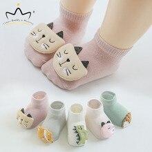 New Cute Cartoon Animal Fox Cat Dinosaur Baby Shoes Soft Cot