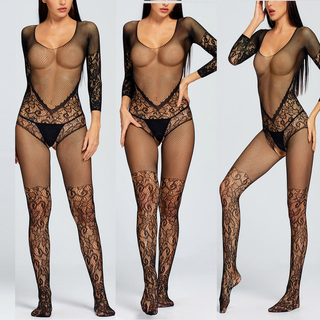 Women's Hollow-Out Perspective Lingerie