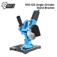 100 125 Angle Grinder Stand Angle Cutter Support Bracket Holder Dock Cast Iron Base Holder Power Tool Accessories