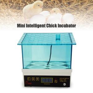 Image 3 - 30W מיני 7 ביצת חממת עופות חממה הוגה דיגיטלי טמפרטורת בקרת ביצת חממת האצ עוף ציפור ביצה