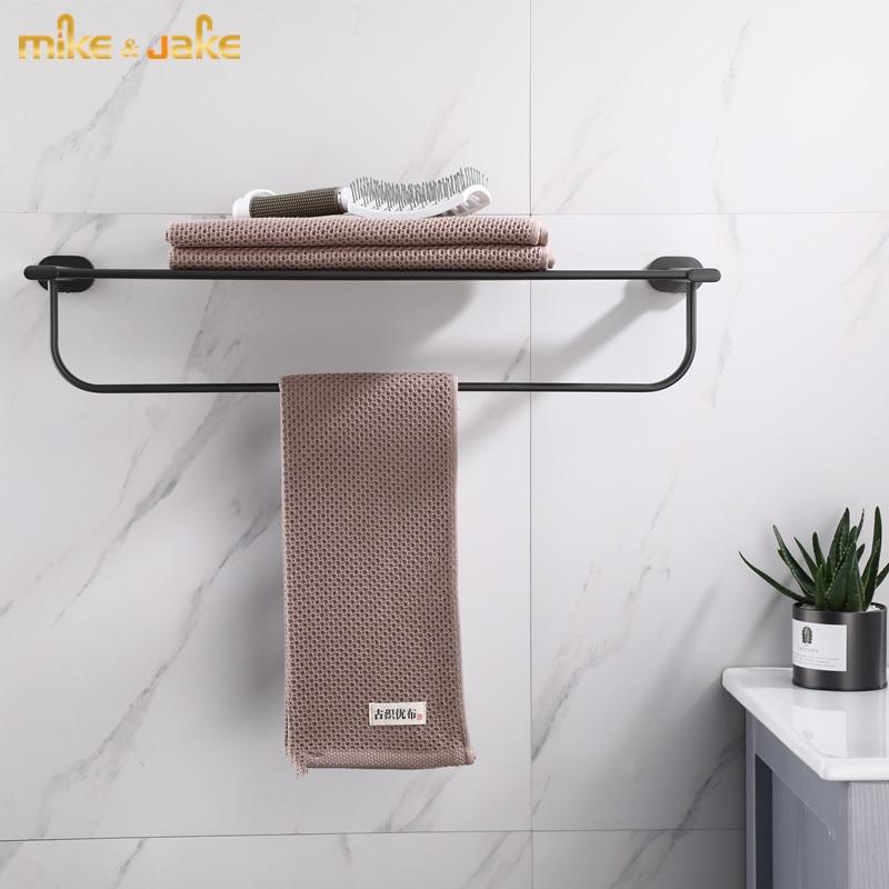Shelf Gray Br Bathroom Towel Rack