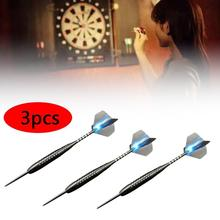 3 Pieces Professional 26 Grams Competition Tungsten Steel Tip Needle Darts Shaft Tip Soft Darts Toys Set / Box цена и фото