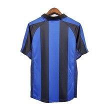 Blue Retro shirts home Gullit SOCCER JERSEY Maldini Van Basten football RONALDO KAKA Inzaghi 01 02 SHEVCHENKO