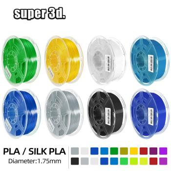 Drukarka 3D Filament PLA SILK PLA 1KG 1 75MM zagraniczne magazyny materiały do drukowania plastikowe PLA Plus do drukarki 3d 3D pen tanie i dobre opinie IdeaFormer CN (pochodzenie) solid 343 metry Silk pla Filament