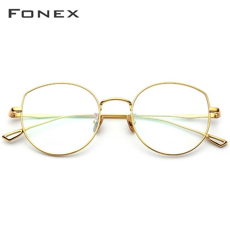 Pur B Titane Lunettes Optiques Cadre Femmes 2019 Nouvelle Prescription Lunettes Oeil De Chat Surdimensionné Lunettes lunettes myopes 868