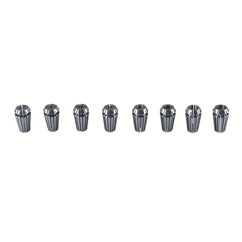 8Pcs ER16 Precision 3-10mm Spring Collet Chuck Collet Set For CNC Milling Machine Engraving Lathe Tool
