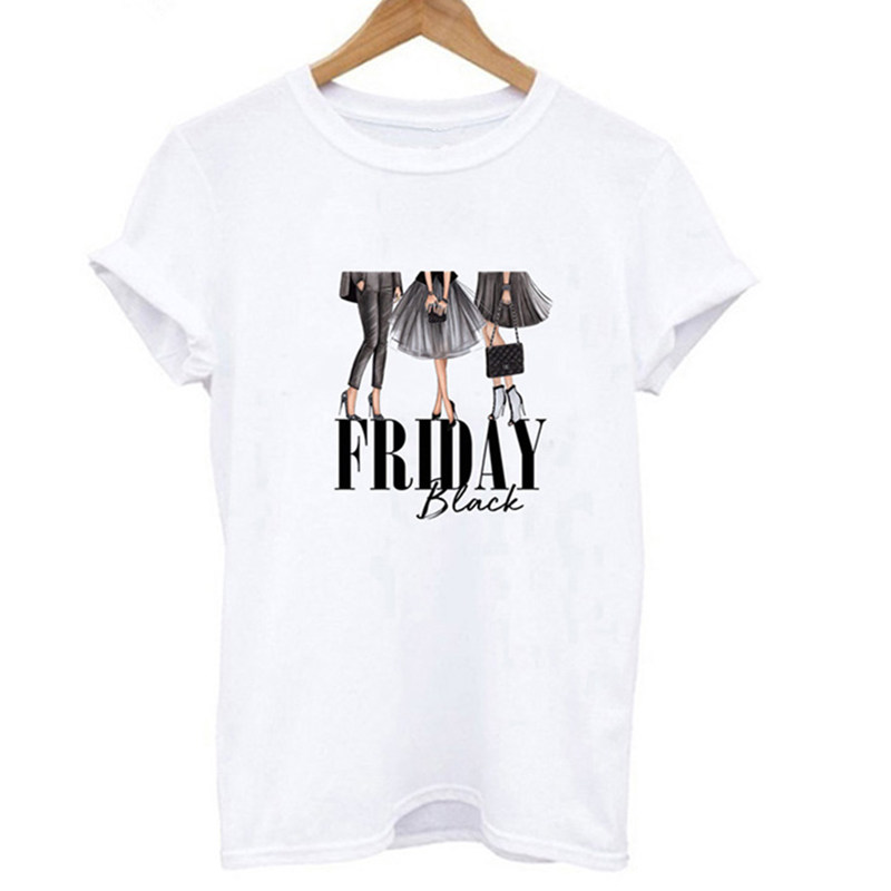 Vintage Print T Shirt Women Tops 2019 Summer Short Sleeve Tshirt Femme Fashion Casual Funny T-shirt Harajuku Frida Graphic Tees