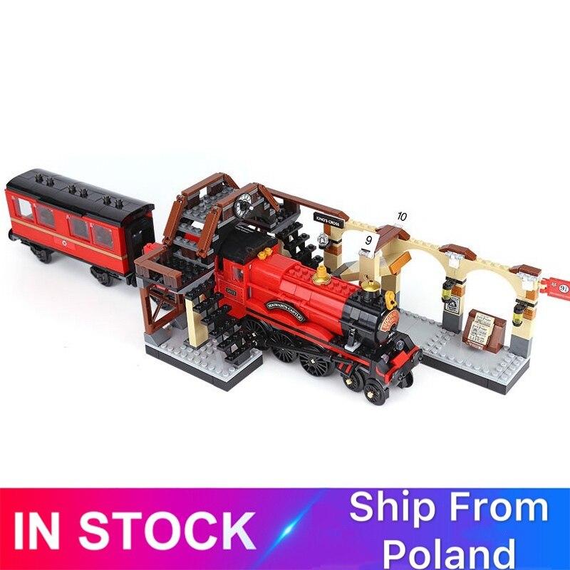 Harri Movie Series Express Train Compatible 16055 75955 Building Blocks Bricks Model Educational Toy Gifts