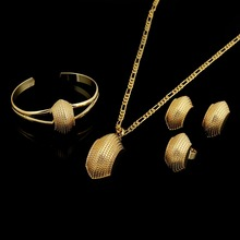 Jewelry Sudan-Accessories Habesha Ethiopians-Style Gold-Filled Wedding-Set Gift African