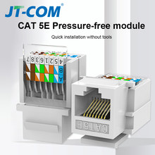 CAT5E UTP Network Module Tool-free RJ45 Connector Cable Adapter RJ45 Modulo FOR AMP hot