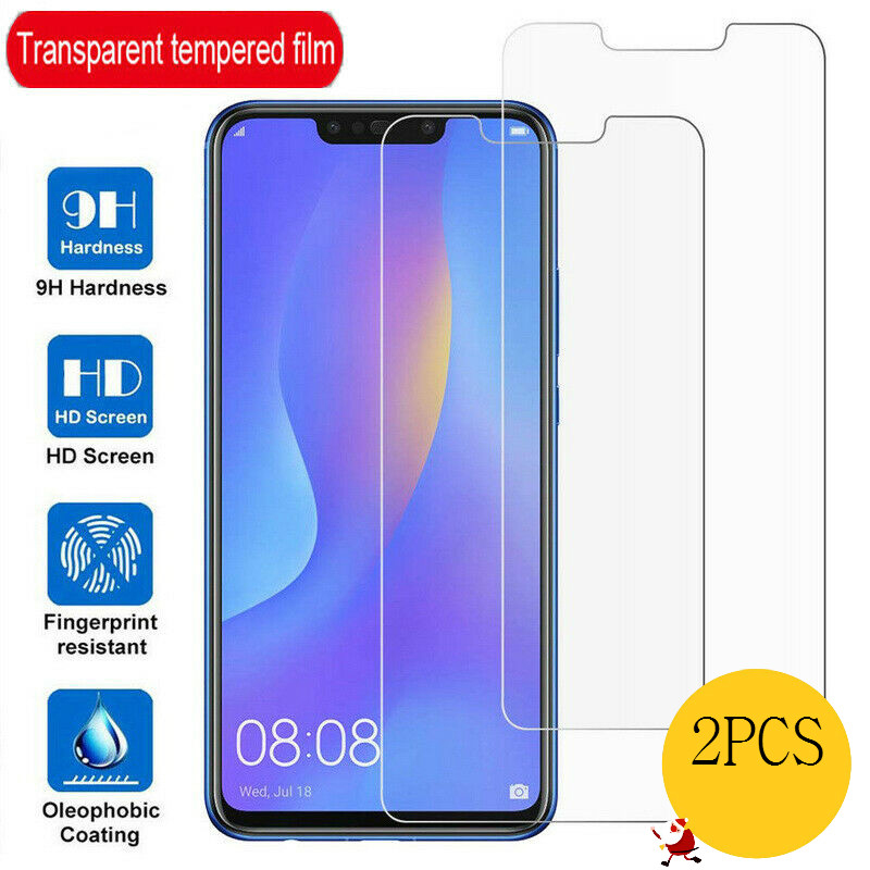 2 Pieces Tempered Glass For Huawei Nova 5 5i Pro 5T 5Z Screen Protector 9H Clear Protective Glass For Huawei P Smart 2019 Plus