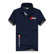 2021 New  Summer Casual Polo Shirt Men's Short Sleeve Lapel Slim Polo Shirt Casual Business Polo Shirt Men's Large Size