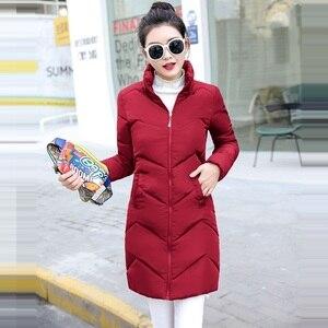 Image 4 - 2019 décontracté coupe vent femmes vestes de base manteaux chauds grande taille 6XL vestes Bomber femme