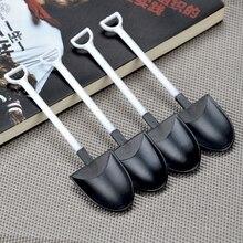 Spoons Disposable Plastic Shovel Dessert Party-Supplies Ice-Cream Tea Coffee 50pcs/Pack
