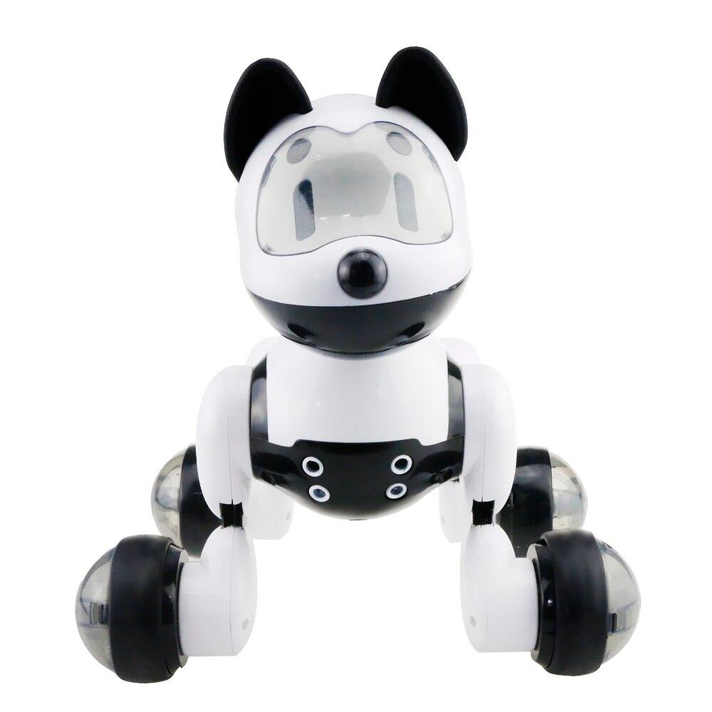 Niños divertido Control de voz inteligente Robot perro niños juguete inteligente que habla Robot perro juguete electrónico mascota regalo de cumpleaños