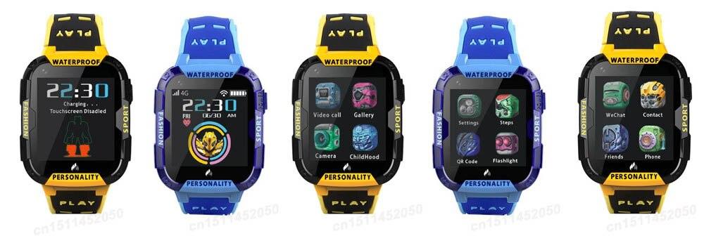 Smartwatch Niños 4G GPS