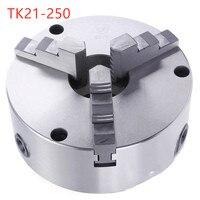 TK21 250 3 szczęki samo centrowania chuck z przodu perforacji w Imadło od Narzędzia na