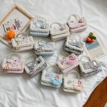 Korean children  bag 2020 summer new shoulder bag simple wild messenger bag tide boys and girls mini square bag