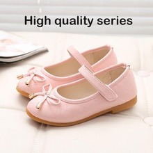 High Quality Kids Princess Shoes New Spring Autunm Summer Baby Girls Flats Children Shoes Princess Students Casual Shoes