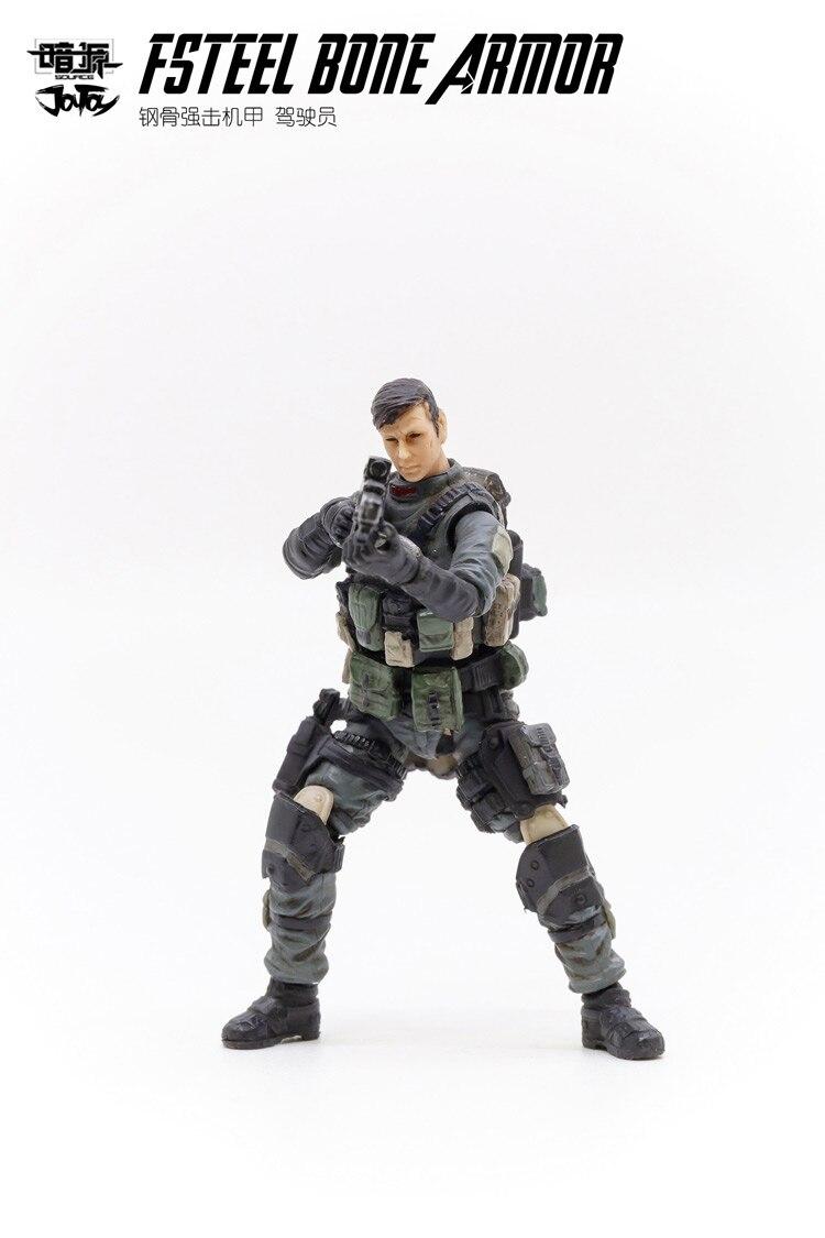 fsteel osso mech modelo militar boneca mecha presente natal frete grátis