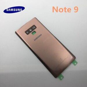 Image 3 - Samsung funda trasera para teléfono móvil Samsung Galaxy Note 9 N960, carcasa de cristal 3D para móvil, carcasa trasera de puerta con herramientas