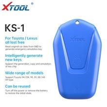 XTOOL KS-01Blue Emulator oto anahtar programcı anahtar tüm kayıp için Toyota için Lexua ile çalışmak X100 PAD3