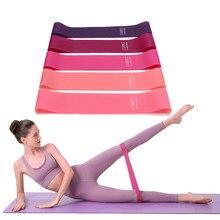 Aptidão portátil equipamentos de treino bandas de resistência de borracha yoga gym elastic goma força pilates crossfit esportes de peso feminino