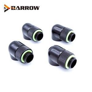 Image 4 - G1/4 90 Degree Rotary Hard Tube Fitting Adapter Rotating 90 degrees water cooling Adaptors 4pcs/lot or 6pcs/lot
