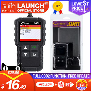 Image 1 - LAUNCH Code Reader CR3001 OBD2 Scanner Engine Fault CAN Scan Tool with Full OBDII Functions with Multilingual free update online