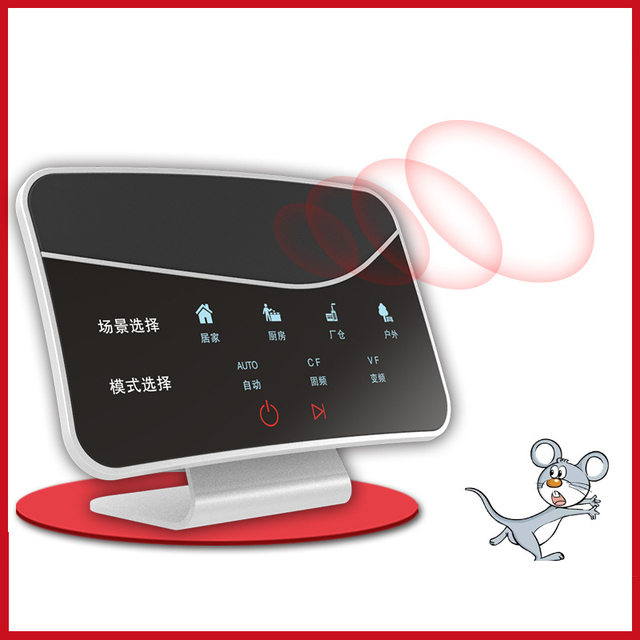2020 Intelligent Ultrasonic Mouse Repeller High Power Pest Repellent Insect Killer for Cockroaches Ants Flies Mosquitoes Mouse