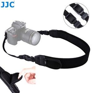 Image 1 - Jjc ajustável liberação rápida confortável câmera alça de ombro pescoço para nikon z6 z7 p1000 d7500 d5600 canon eos r 5dm4 80d 77d 70d t7i