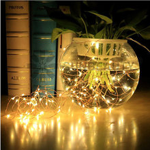 1M 2M 5M 10M 21M Copper Wire LED String Lamp Fairy lights Night Light For Christmas Garland New Year Xmas Wedding Decoration(China)