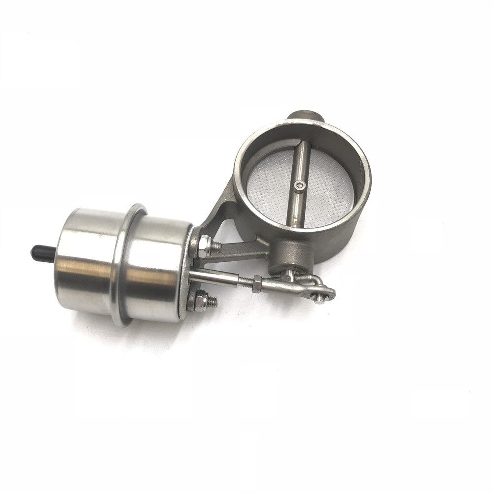 Автомобильный Выпускной контрольный клапан с вакуумным приводом, вырезанная труба, закрытый стиль с беспроводным пультом дистанционного управления - Цвет: 63MM Valve Body