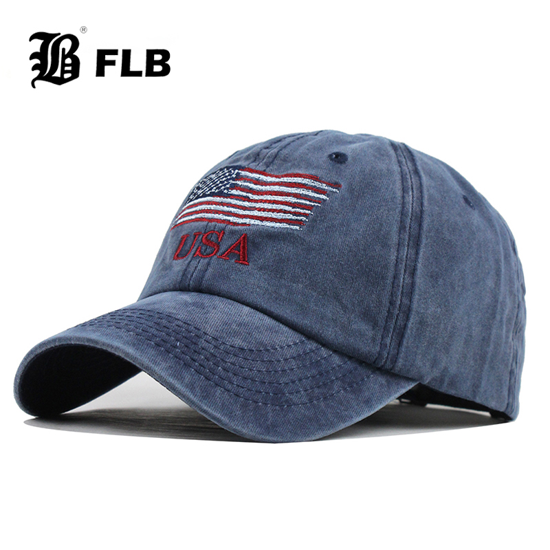 [FLB] 2020 New Washed Cotton Baseball Cap Snapback Hat For Men Women Dad Hat Embroidery Casual Cap Casquette Hip Hop Cap F398